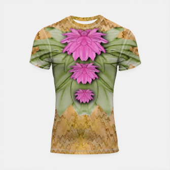 Thumbnail image of lotus bloom in the sacred soft warm sea of love Shortsleeve rashguard, Live Heroes