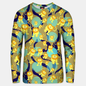 Thumbnail image of Lions Pattern Unisex sweater, Live Heroes