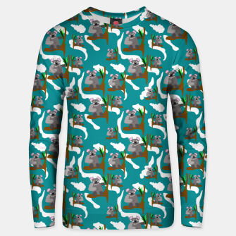 Koala Bears Pattern Unisex sweater thumbnail image