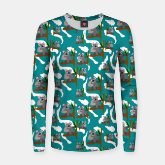 Koala Bears Pattern Women sweater thumbnail image