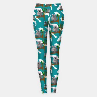 Koala Bears Pattern Leggings thumbnail image