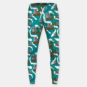 Koala Bears Pattern Sweatpants thumbnail image