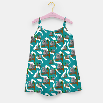 Koala Bears Pattern Girl's dress thumbnail image