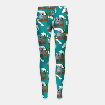 Thumbnail image of Koala Bears Pattern Girl's leggings, Live Heroes