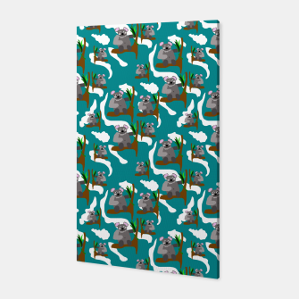 Thumbnail image of Koala Bears Pattern Canvas, Live Heroes