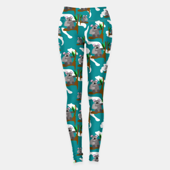 Thumbnail image of Koala Bears Pattern Leggings, Live Heroes