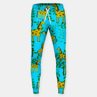 Thumbnail image of Cute Giraffes Pattern Sweatpants, Live Heroes