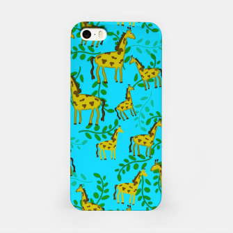 Thumbnail image of Cute Giraffes Pattern iPhone Case, Live Heroes