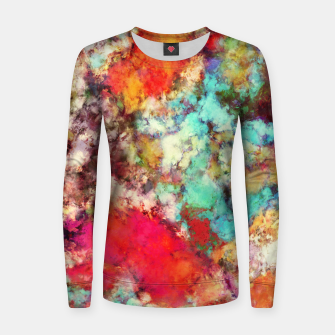 Thumbnail image of Jaw dropper Women sweater, Live Heroes