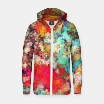 Thumbnail image of Jaw dropper Zip up hoodie, Live Heroes