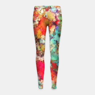 Thumbnail image of Jaw dropper Girl's leggings, Live Heroes