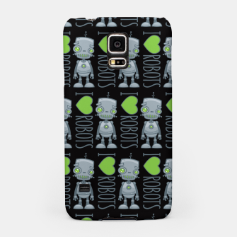 Thumbnail image of I Love Robots Samsung Case, Live Heroes