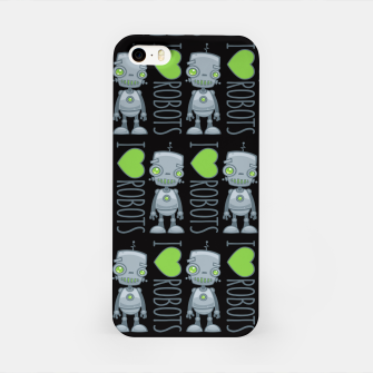 Thumbnail image of I Love Robots iPhone Case, Live Heroes