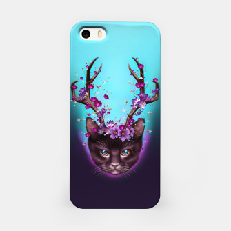Thumbnail image of CAT HORNS UP iPhone Case, Live Heroes