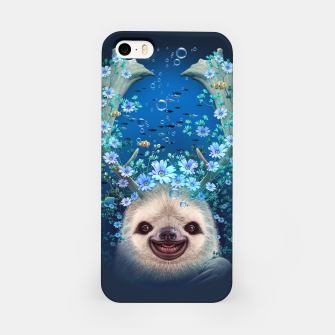 Thumbnail image of SLOTH HORNS UP iPhone Case, Live Heroes