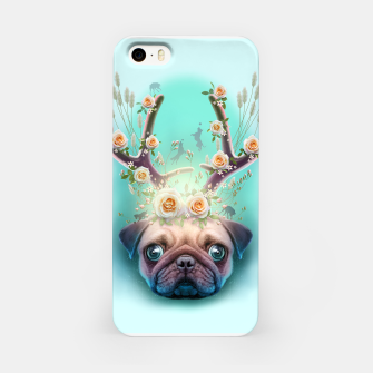Thumbnail image of PUG HORNS UP iPhone Case, Live Heroes