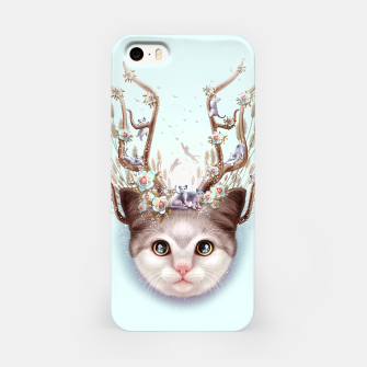 Thumbnail image of KITTEN HORNS UP iPhone Case, Live Heroes