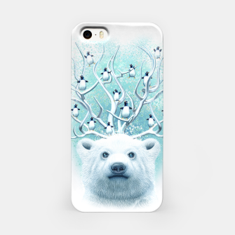 Thumbnail image of POLAR BEAR HORNS UP iPhone Case, Live Heroes