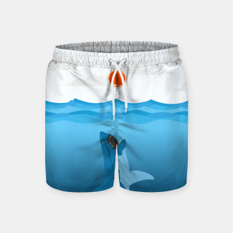 Shark Eats Sun Swim Shorts thumbnail image