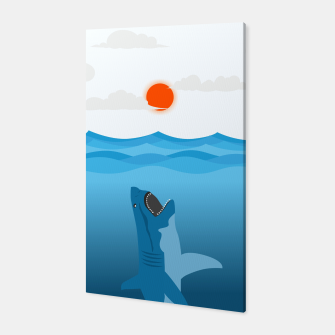 Shark Eats Sun Canvas thumbnail image