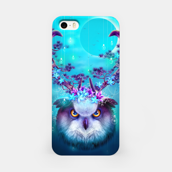 Thumbnail image of OWL HORNS UP iPhone Case, Live Heroes