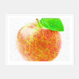 Thumbnail image of apple Framed poster, Live Heroes