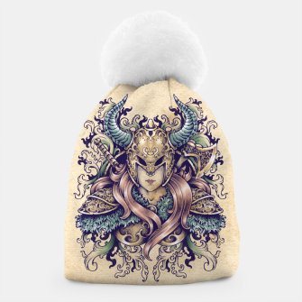 Thumbnail image of Warrior Goddess – pastel grunge Beanie, Live Heroes