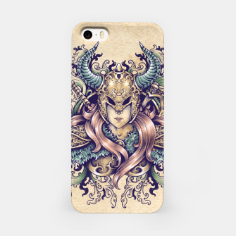 Thumbnail image of Warrior Goddess – pastel grunge iPhone Case, Live Heroes