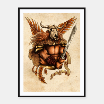 Thumbnail image of Battle for Honor – Phoenix Spirit Framed poster, Live Heroes