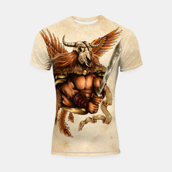 Thumbnail image of Battle for Honor – Phoenix Spirit Shortsleeve rashguard, Live Heroes