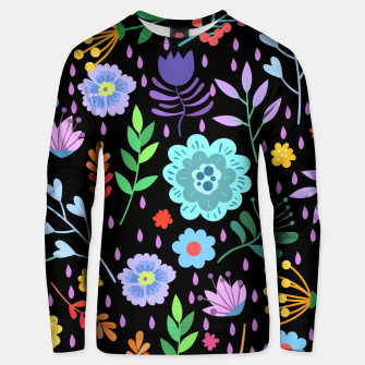 Thumbnail image of Cute colorfu flowers pattern Unisex sweater, Live Heroes