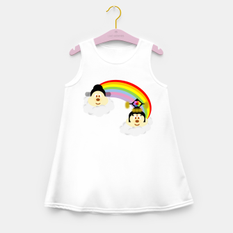 Miniatur Chinese Couple Hat 鮑 鮑 in Rainbow, Live Heroes