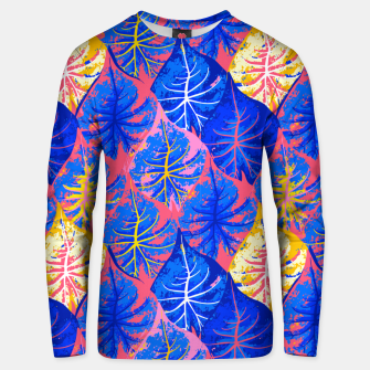 Thumbnail image of Exotic Leaves Unisex sweater, Live Heroes