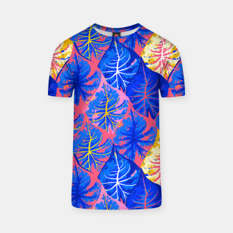 Thumbnail image of Exotic Leaves T-shirt, Live Heroes