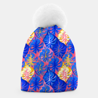 Thumbnail image of Exotic Leaves Beanie, Live Heroes