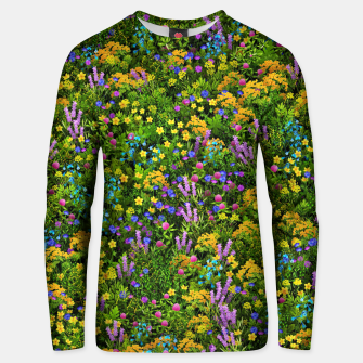 Thumbnail image of Wild meadow flowers Unisex sweater, Live Heroes