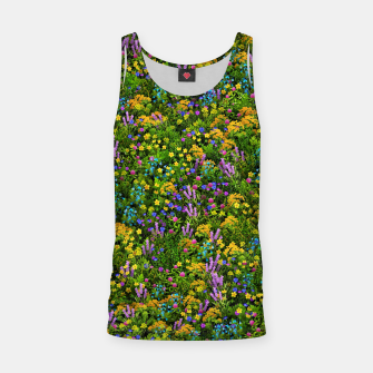 Thumbnail image of Wild meadow flowers Tank Top, Live Heroes
