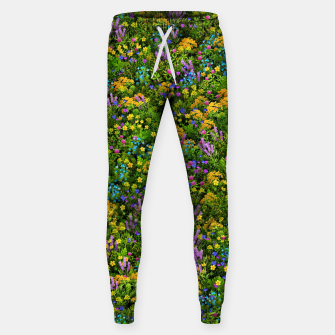 Miniaturka Wild meadow flowers Sweatpants, Live Heroes