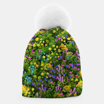 Thumbnail image of Wild meadow flowers Beanie, Live Heroes