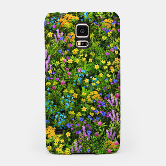 Thumbnail image of Wild meadow flowers Samsung Case, Live Heroes