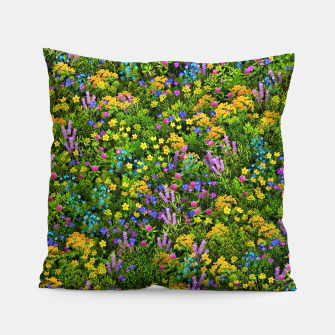 Miniaturka Wild meadow flowers Pillow, Live Heroes