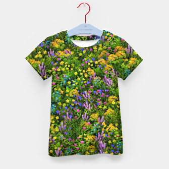 Miniaturka Wild meadow flowers Kid's t-shirt, Live Heroes