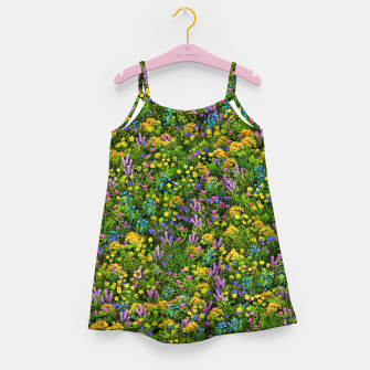 Miniaturka Wild meadow flowers Girl's dress, Live Heroes