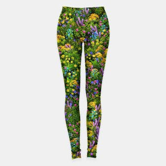 Miniaturka Wild meadow flowers Leggings, Live Heroes