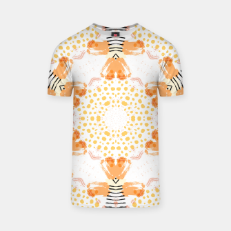 Thumbnail image of Yellow Kaleidoscope Mandala T-shirt, Live Heroes