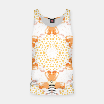 Thumbnail image of Yellow Kaleidoscope Mandala Tank Top, Live Heroes