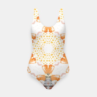 Thumbnail image of Yellow Kaleidoscope Mandala Swimsuit, Live Heroes