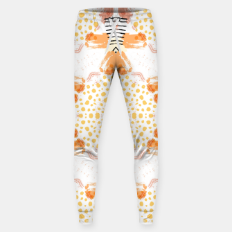 Thumbnail image of Yellow Kaleidoscope Mandala Sweatpants, Live Heroes
