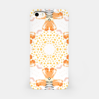 Thumbnail image of Yellow Kaleidoscope Mandala iPhone Case, Live Heroes