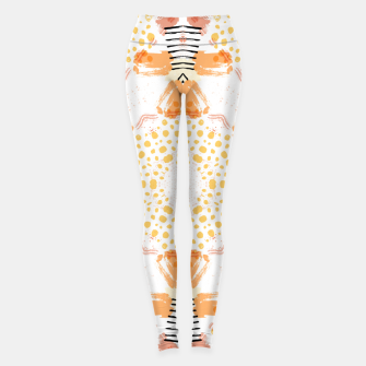 Thumbnail image of Yellow Kaleidoscope Mandala Leggings, Live Heroes